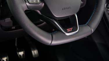 2018 Ford Fiesta ST - steering wheel