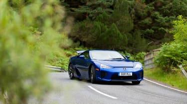 Lexus LFA tribute video blue