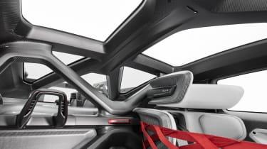 Porsche Mission R – roof