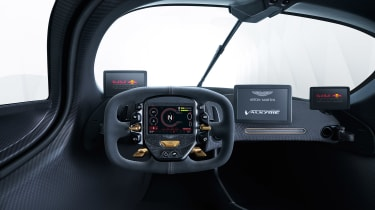 Aston Martin Valkyrie - interior