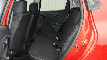 2013 Renault Clio rear seats