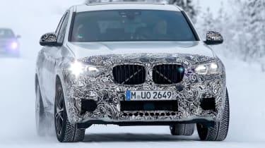 BMW X4 M development car