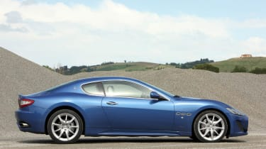 2012 Maserati GranTurismo Sport side profile