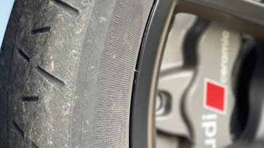 2022 Audi RS3 Sportback –tyres