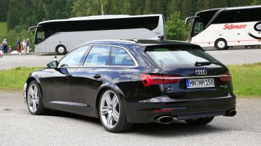 Audi RS6 Avant spy - rear quarter static