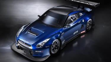 Video: Nissan GT-R GT3 hits the track