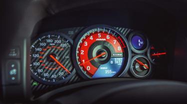R35 Nissan GT-R Nismo dash