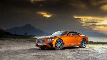 Bentley Continental GT review – front quarter