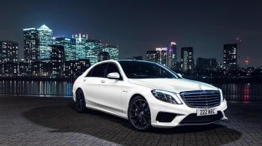Mercedes-Benz S-class – front quarter