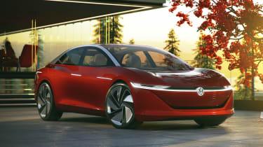 Volkswagen I.D. Vizzion – front