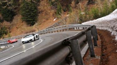Lamborghini Aventador and Countach slide