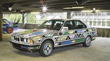 BMW 525i by Esther Mahlangu