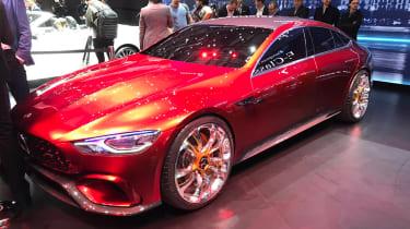 Mercedes-AMG GT concept - Geneva front three quarter