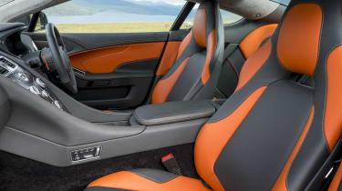 Aston Martin Vanquish 2015 interior