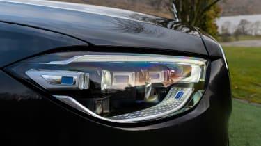 Mercedes S-class – headlight