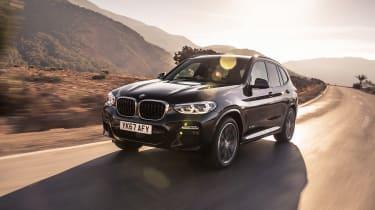 BMW X3 30d M Sport - front
