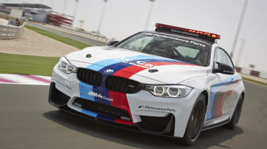 evo Magazine August 2014 - BMW M4 safety car