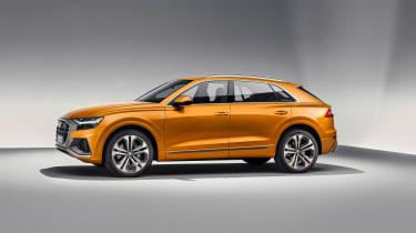 Audi Q8 TDI - side