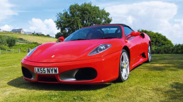 Ferrari F430 Spider - front three quarter