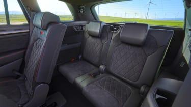 Skoda Kodiaq vRS rear seats