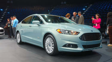 Detroit motor show: new Ford Mondeo