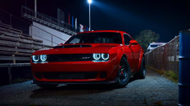 Dodge Demon night