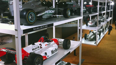 Mercedes race cars