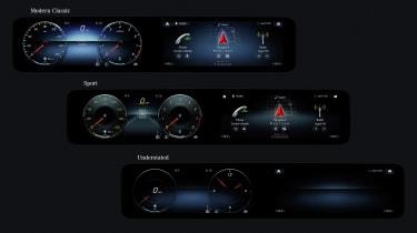 Mercedes-Benz A-class display