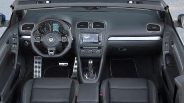 VW Golf R Cabriolet interior