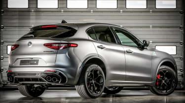 Alfa Romeo NRING Stelvio rear