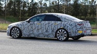 Mercedes-AMG CLA45 side