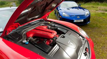 Ferrari 599 GTO engine