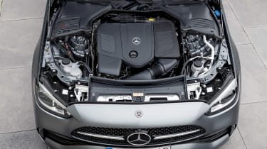 2021 Mercedes C-class revealed - engine
