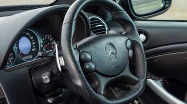 CLK63 Black Series interior