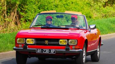 Peugeot 504 convertible