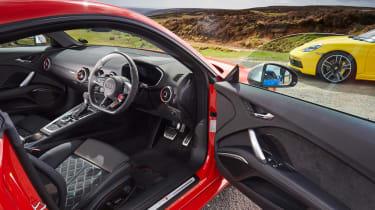 evo Supertest A110 vs rivals - TTRS interior