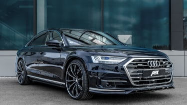 Audi A8 Abt - front quarter