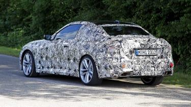 2021 BMW 2-series spy – rear quarter