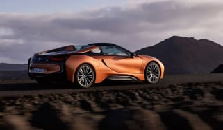 BMW i8 Roadster - rear quarter