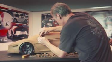 Honda Sports Vision Gran Turismo – clay model