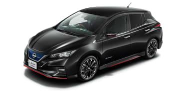 Nissan Leaf Nismo black