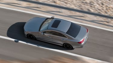 Mercedes-Benz CLS AMG Line – top shot