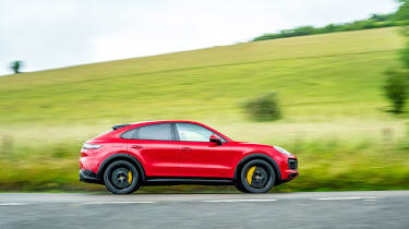 Porsche Cayenne Coupe GTS – side
