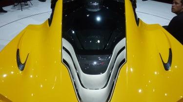 McLaren P1 engine bay
