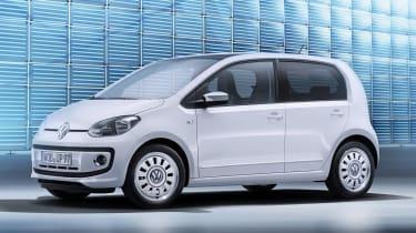 Volkswagen reveals five-door Up