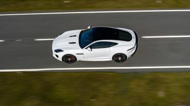 Jaguar F-Type Chequered Flag edition - roof