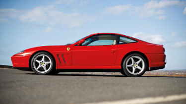 Ferrari 550 Maranello side