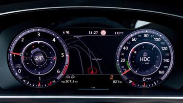 Volkswagen Tiguan – Dials