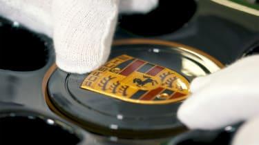 Porsche Classic project gold badge