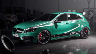 Mercedes A45 AMG tuned to 424bhp by GAD Motors